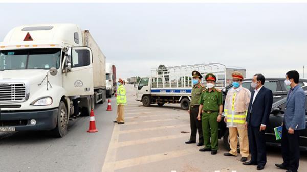Bắc Ninh cách ly những người đến, đi qua các tỉnh thành có dịch Covid-19