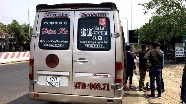Gia Lai: Buộc quay đầu 2 phương tiện vận tải hành khách ngoài tỉnh