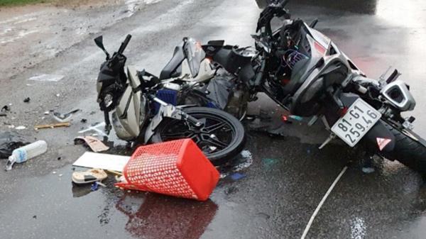 Gia Lai: Tai nạn xe máy nghiêm trọng, 2 người tử vong
