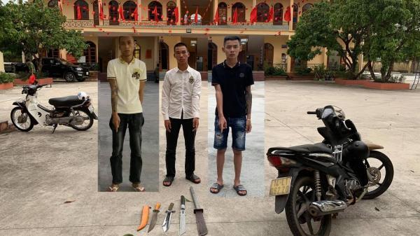 Quảng Ninh: Nhóm tuổi teen bị xử phạt vì mang hung khí phóng xe ầm ầm trên phố