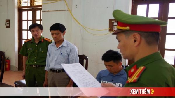 Hà Giang: Chính thức bắt 2 cán bộ tham ô tài sản