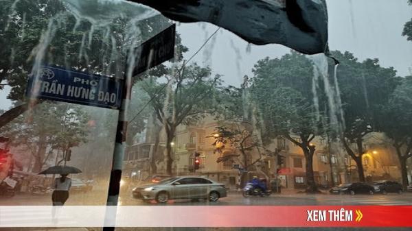 Hà Nội sẽ có mưa lớn trong 3 ngày liên tiếp
