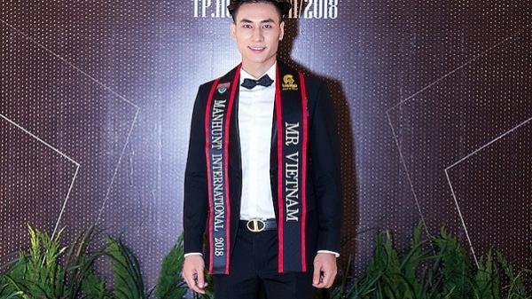 Siêu mẫu Mai Tuấn Anh đến từ Hưng Yên được cấp phép dự thi Manhunt 2018