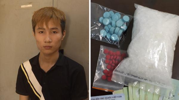 Hưng Yên: Bắt nam thanh niên 9X giấu m.a tú.y trong cốp xe máy