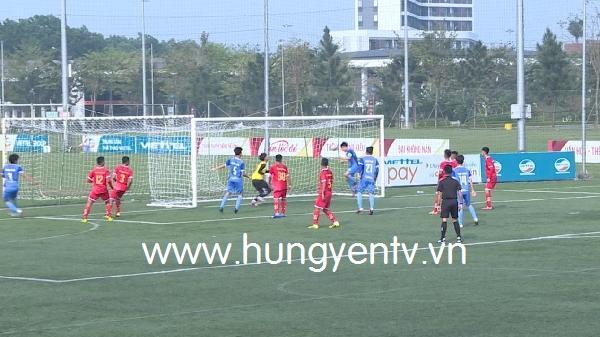 U19 Phố Hiến (Hưng Yên) lần đầu tham dự giải bóng đá vô địch U19 Quốc gia