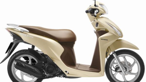 Ngắm nhìn Honda Vision phiên bản nâng cấp vừa ra mắt, giá bán từ 29,9 triệu đồng