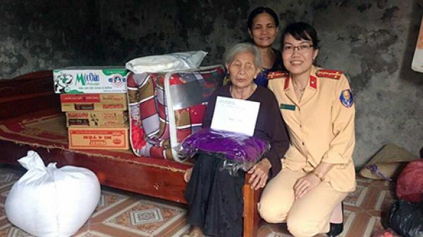 Nữ Cảnh sát giao thông ở Hưng Yên với những hoạt động thiện nguyện