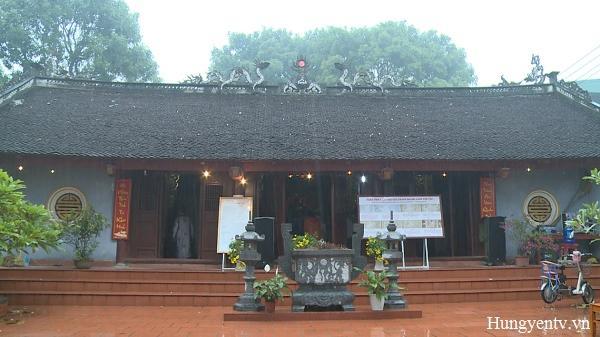 Mỹ Hào (Hưng Yên): 1 đình làng đón bằng di tích kiến trúc nghệ thuật cấp tỉnh