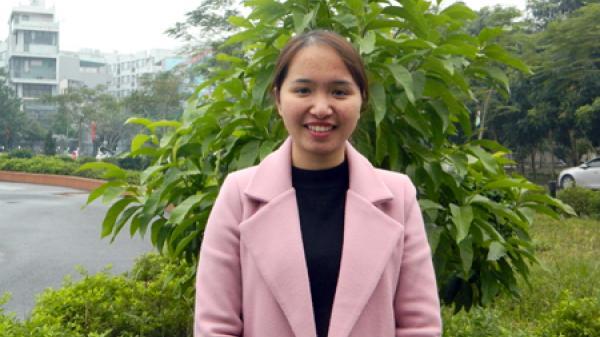 Nữ sinh nghèo Hưng Yên vươn lên xuất sắc đạt giải Sao Tháng Giêng