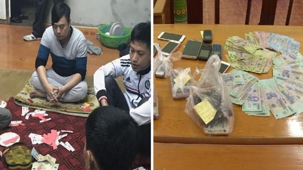 Văn Giang (Hưng Yên): Triệt xóa tụ điểm đánh bạc lớn thu gần 90 triệu đồng
