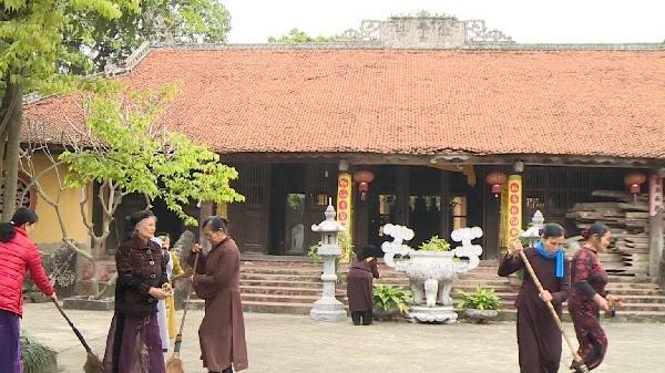Tìm về bình yên ở ngôi chùa hơn 900 tuổi tại Văn Lâm, Hưng Yên