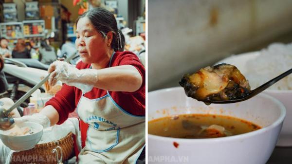 Bán bún ốc 30 năm, chuẩn bị 1,5 tấn ốc cô Huệ quê Hưng Yên vẫn cháy hàng dịp Tết