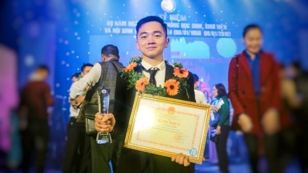 """Chàng trai Hưng Yên xuất sắc nhận được cấp Trung ương tuyên dương là """" sinh viên 5 tốt"""""""