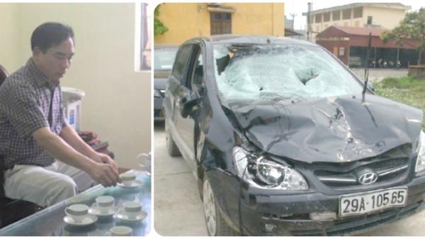 Chủ tịch lái ôtô đâm học sinh tử vong ở Hưng Yên biến mất: 'Đang vận hạn'