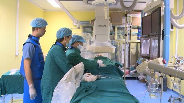 Bệnh viện đa khoa Hưng Yên thực hiện thành công kỹ thuật nút mạch hóa chất điều trị u gan