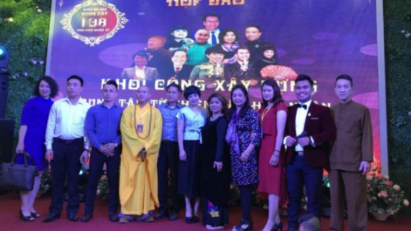 """Nhiều nghệ sĩ hào hứng ủng hộ xây dựng Trung tâm từ thiện """"Văn hào Nhân sĩ"""" ở chùa Hưng Yên"""
