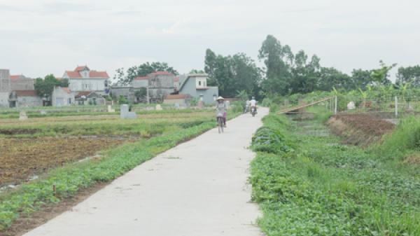 Xã Thành Công (Khoái Châu) tự hào không nợ đọng khi xây dựng nông thôn mới