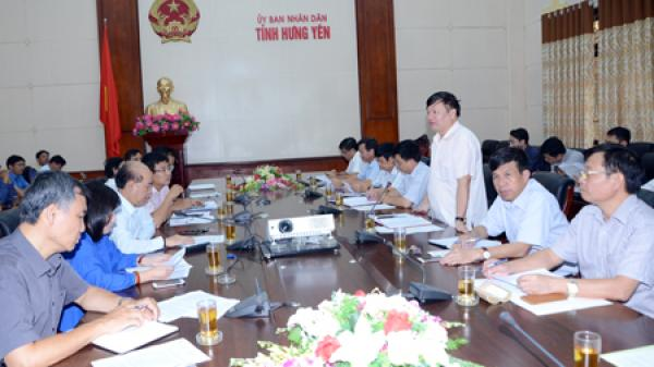 Đoàn công tác của Bộ Giao thông Vận tải làm việc tại tỉnh Hưng Yên về tiến độ thực hiện một số dự án giao thông