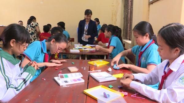 Phát triển mô hình các câu lạc bộ ở trường THCS Chu Mạnh Chinh huyện Văn Giang