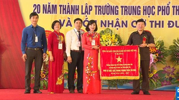Trường THPT Chuyên Hưng Yên phấn đấu là trường mạnh trong khối THPT toàn quốc