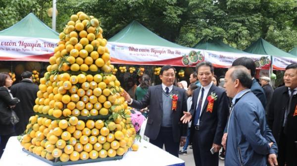 Những hình ảnh đặc sắc tại hội chợ Cam lần đầu tiên được tổ chức tại Hưng Yên