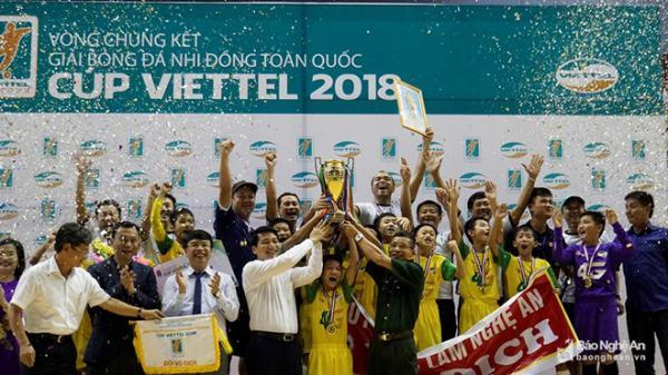 U11 Hưng Yên đạt giải Á quân tại Giải bóng đá nhi đồng toàn quốc