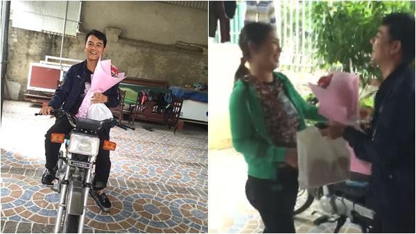 Clip: Tặng quà 20/10 sớm cho vợ, ông chồng xứ Nghệ vừa bật cười vừa khóc kêu 'rầy lắm' ngại lắm khiến dân mạng 'nổ mắt' ghen tỵ
