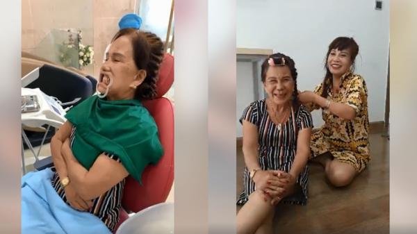 """""""Chị chị em em"""" – cô dâu 62 tuổi chi tiền dẫn cô dâu 65 tuổi đi trồng răng sứ, cải thiện nhan sắc"""