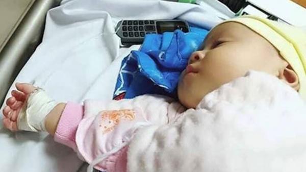 Cháu bé ở Phú Thọ mắc bệnh phổi, tim nặng cần giúp đỡ