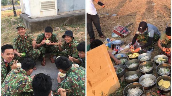 Bát mì tôm và nụ cười không biết mệt mỏi của các chiến sĩ trong khu cách ly: Hình ảnh đẹp nhất ngày