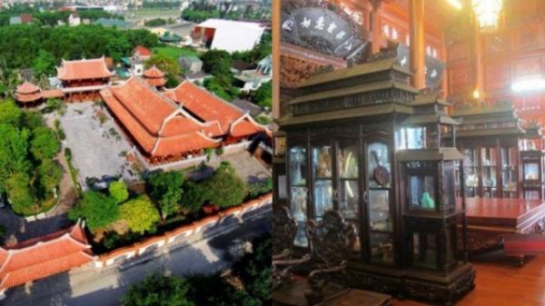Choáng với biệt phủ 200 tỷ chẳng khác nào bản sao Tử Cấm Thành của đại gia Việt khét tiếng
