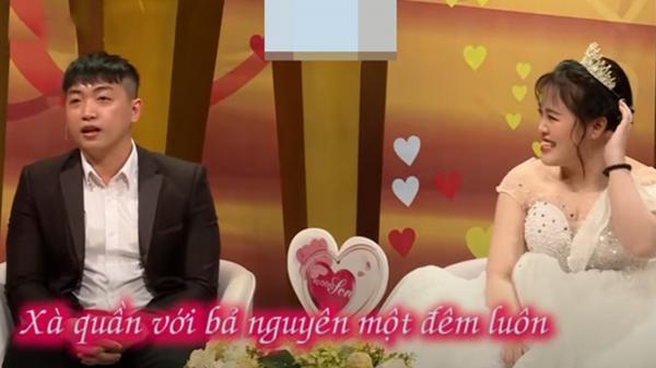 """Cặp đôi khiến khán giả """"đỏ mặt"""" khi kể về đêm tân hôn"""