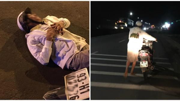 Người đàn ông thất thần nằm bên vệ đường vì hay tin vợ mất lúc sinh con mà không thể về ngay, câu chuyện sau đó khiến nhiều người xúc động