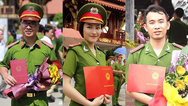 Vừa học giỏi vừa đa tài, 3 thủ khoa đầu ra của HV Cảnh sát nhân dân khiến nghìn người ngưỡng mộ