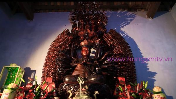 Hưng Yên: Tượng Phật nghìn mắt nghìn tay chùa Mễ Sở được công nhận là Bảo vật quốc gia