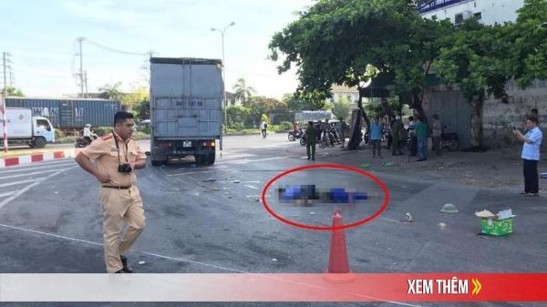 VỪA XONG: Va chạm với xe tải 2 nam phụ hồ t.ử v.o.ng tại chỗ thương tâm