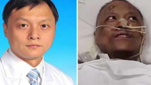 Hai bác sĩ Trung Quốc nhiễm Covid-19 thoát chết nhưng da đổi màu nâu