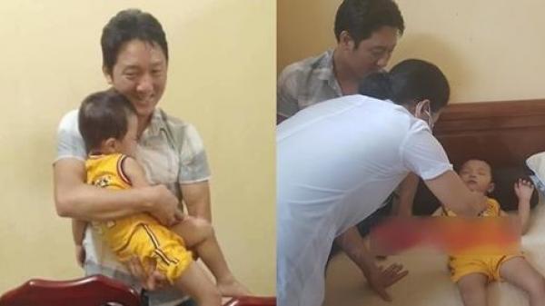 Hình ảnh mới nhất của cháu bé bị b ắt cók Bắc Ninh sau khi được giải cứu an toàn