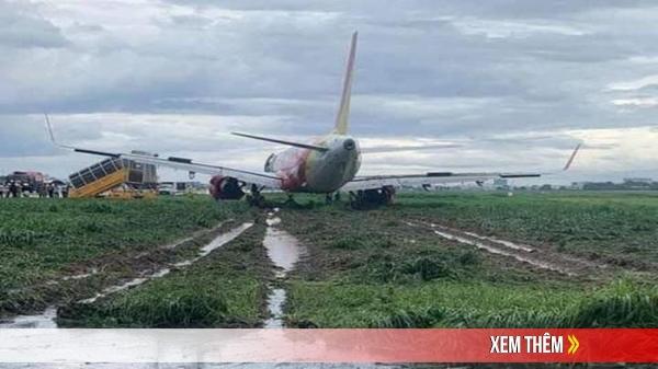 Tạm thu bằng lái của phi công vụ máy bay chệch đường băng Tân Sơn Nhất