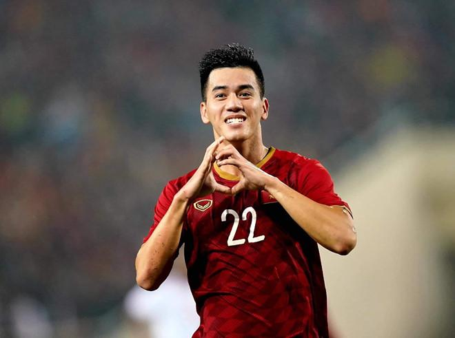 Tiến Linh là một trong những cầu thủ nam có dàn fangirls hùng hậu
